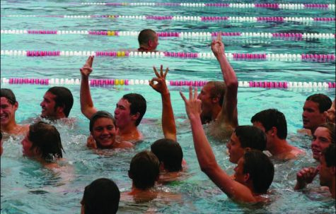Boys Swimming Third Concecutive Championship