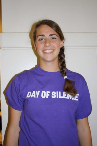 Students support Gay-Straight Alliance in Day of Silence