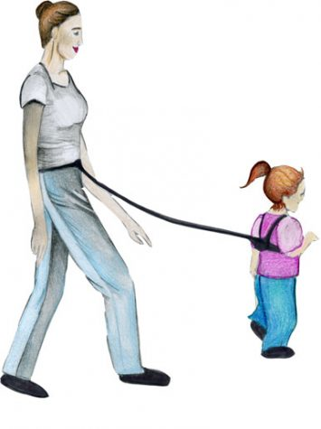 Leashing children: parent or pet owner?
