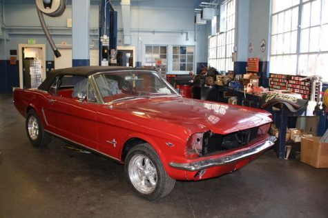 Autoshop's quest to restore a '65 Mustang