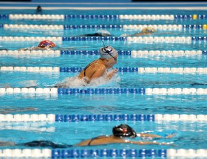 Tam Senior Swims in Olympic Trials