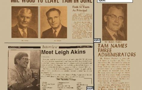 From the Archives: Tam Bids Farewell to Past Principals