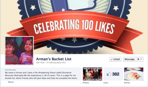 Arman Noorani Receives Student Support Through Social Media Platforms