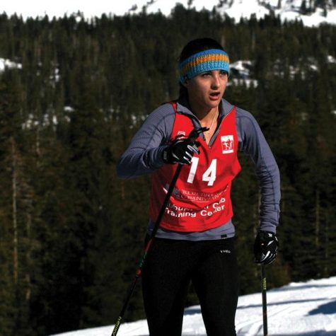 Tam Senior Skis Her Way to Junior Olympics