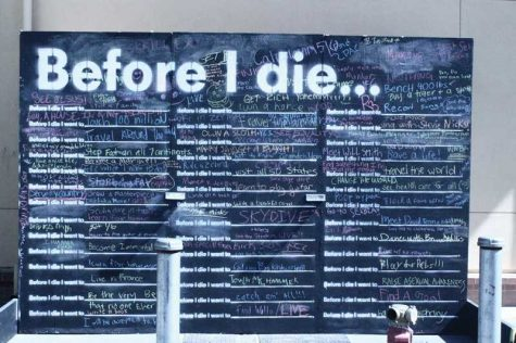 "The ""Before I Die"" Wall Brings Inspiration"