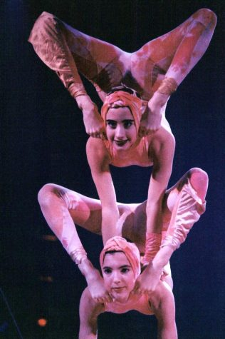 Freshman Karina Hoge Shows Passion for Cirque du Soleil Acrobatics