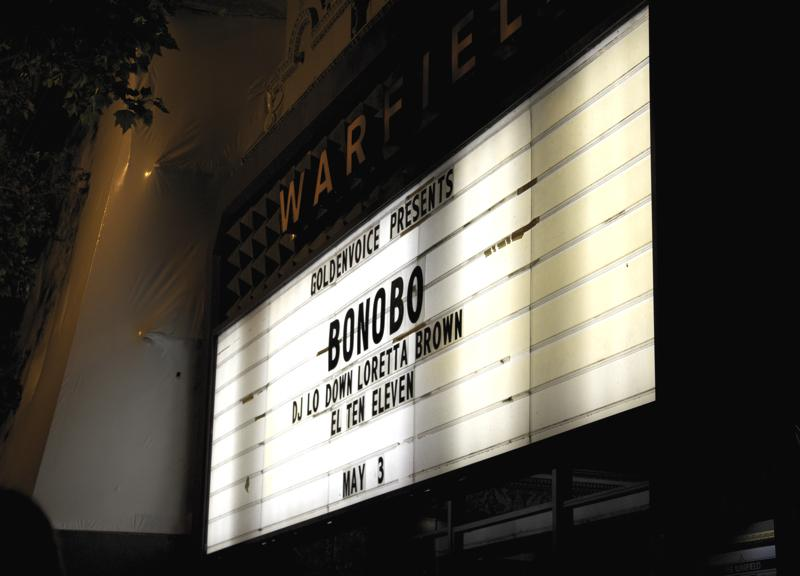 Erykah+Badu+opened+with+a+DJ+set+for+Bonobo+at+The+Warfield+on+May+3.+