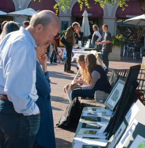 Students Display Art on Campus and Downtown