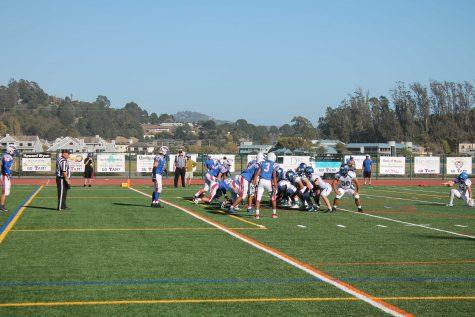 Varsity Football Loses Homecoming Game, Harris Injured