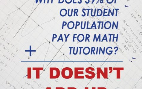 It Doesn't Add Up: Why Does 39% of Our Student Population Pay for Math Tutoring?