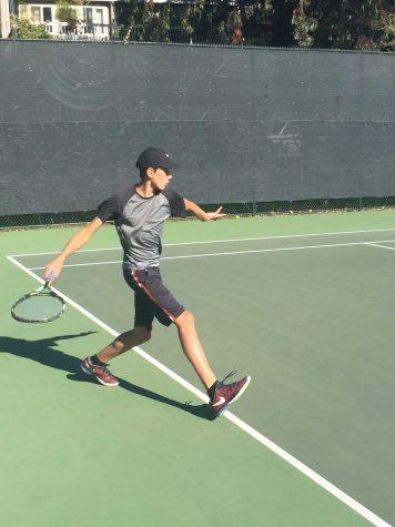 Athlete Q&A with Finn Taylor (Freshman Boys' Varsity Tennis Player)
