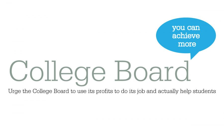 College Board To Offer More >> The College Board A Nonprofit Profit The Tam News