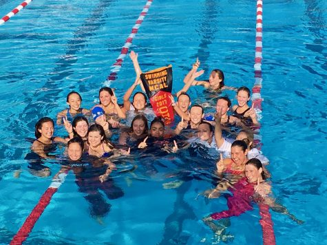 Tam Girls' Swimming Wins MCALs