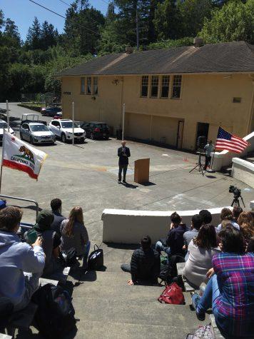 Congressman Huffman Visits Tam