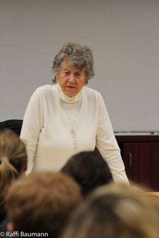 Holocaust Survivor Speaks At Tam