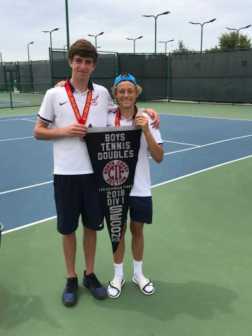 Roddy and Marks Serve Up NCS Banner