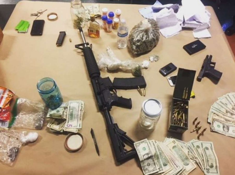 Marin County Sheriff's Dept. discovers weapons, drugs in abandoned vehicle