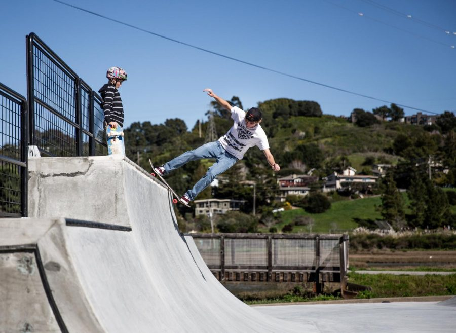Ramping Up: Tam students spur skate park renovation