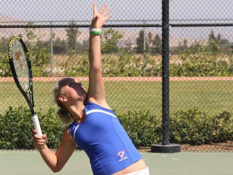 Girls varsity tennis drive ahead in new season