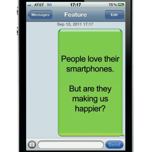 Smartphones: Finding a Balance