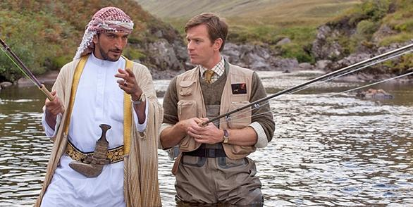Charms of cast save Salmon Fishing in the Yemen