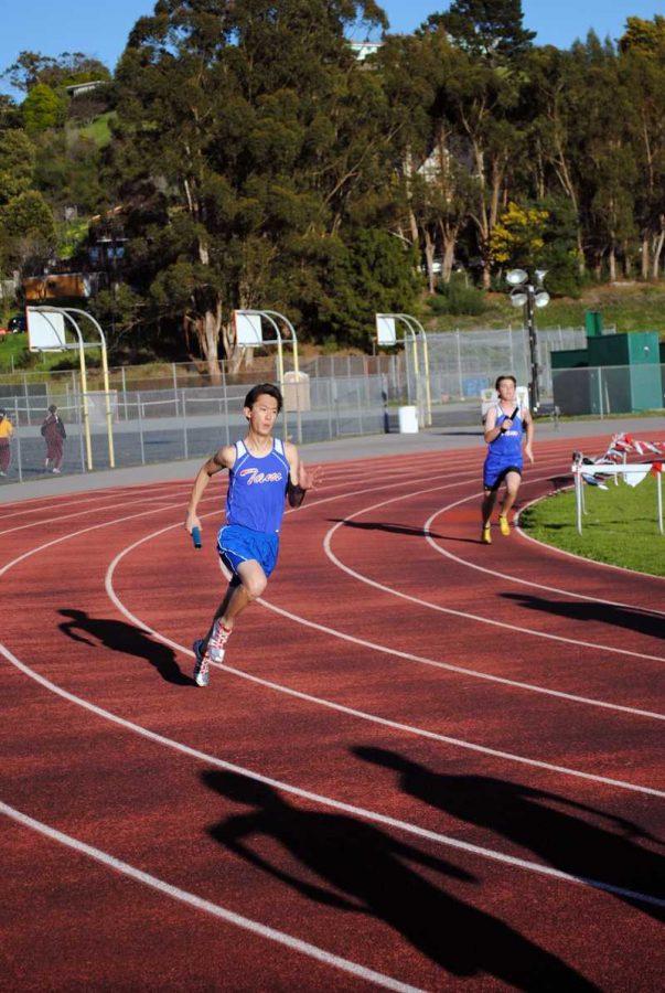 Gallery: Track runs twilight relays