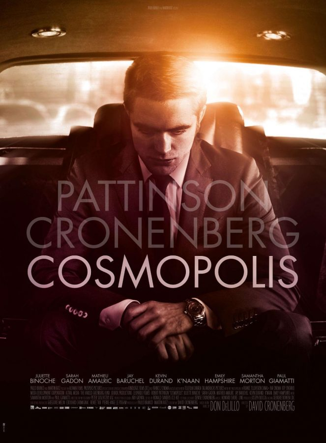 Cosmopolis is a little different, just like Robert Pattinsons prostate