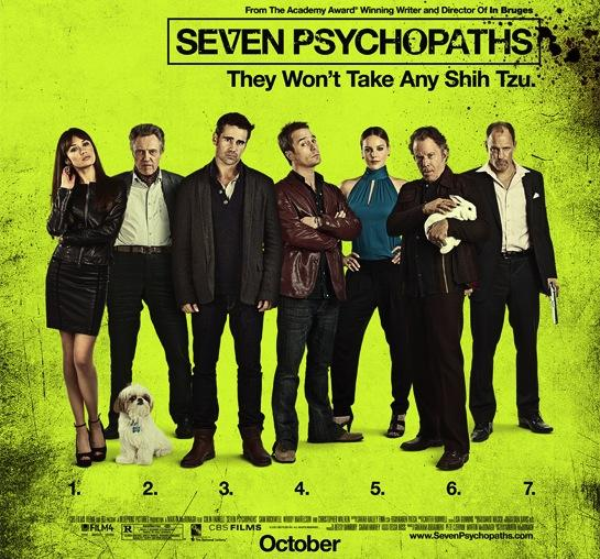Seven Psychopaths is a Great Combination of Adaptation and In Bruges