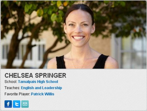 Ms. Springer featured on the Symetra website.