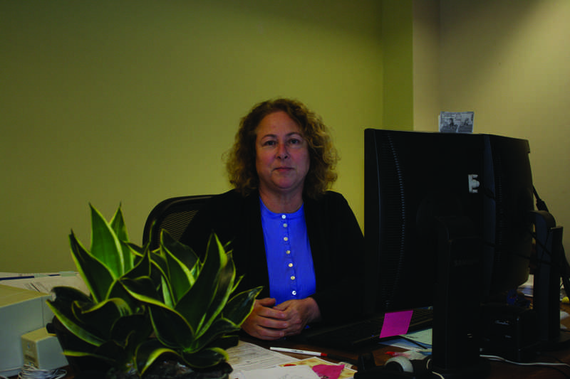 STANDING GROUND: Darla Deme is one of several classified staff members requesting higher pay.