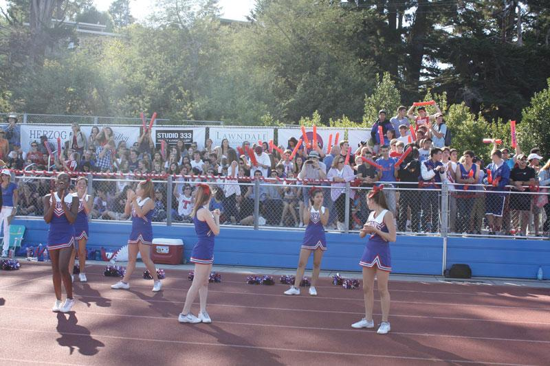 A+REAL+CROWD%3A++Tam+students%2C+sporting+Hawks+colors+and+rally+tubes%2C+packed+into+the+stands+to+watch+the+2012+Homecoming+game.+This+could+be+a+regular+occurrence+that+would+help+our+teams.+Photo+by%3A+Chris+Yip