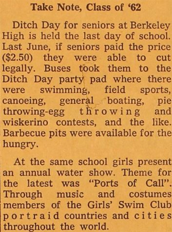 From the Archives: Senior Ditch Day