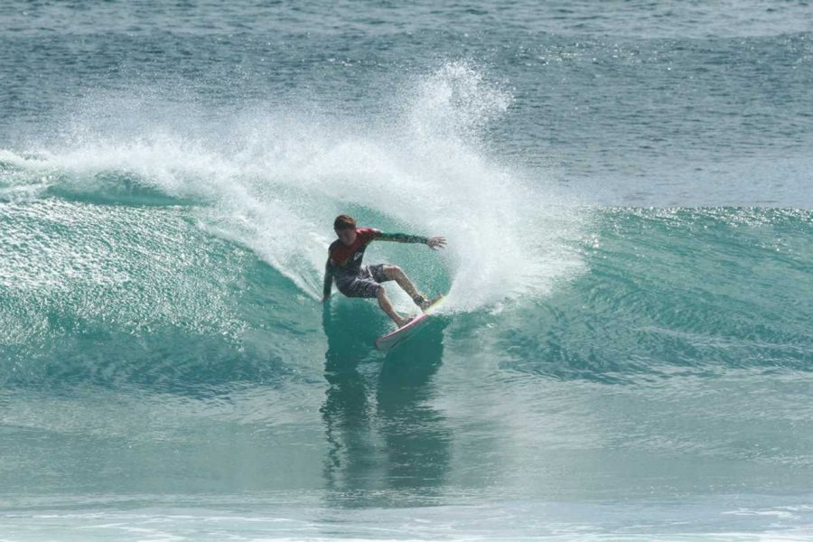 From Ocean Beach To Bali: Junior Trevor Rowedder Traverses Professional Surfing World