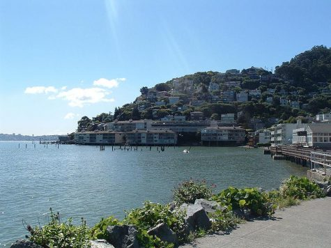 A Slice of Paris in Sausalito