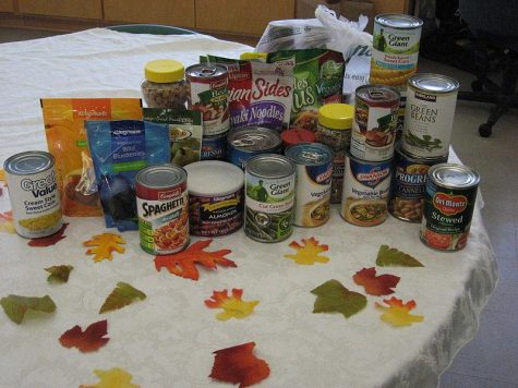 Fall Food Drive Runs Through December 6