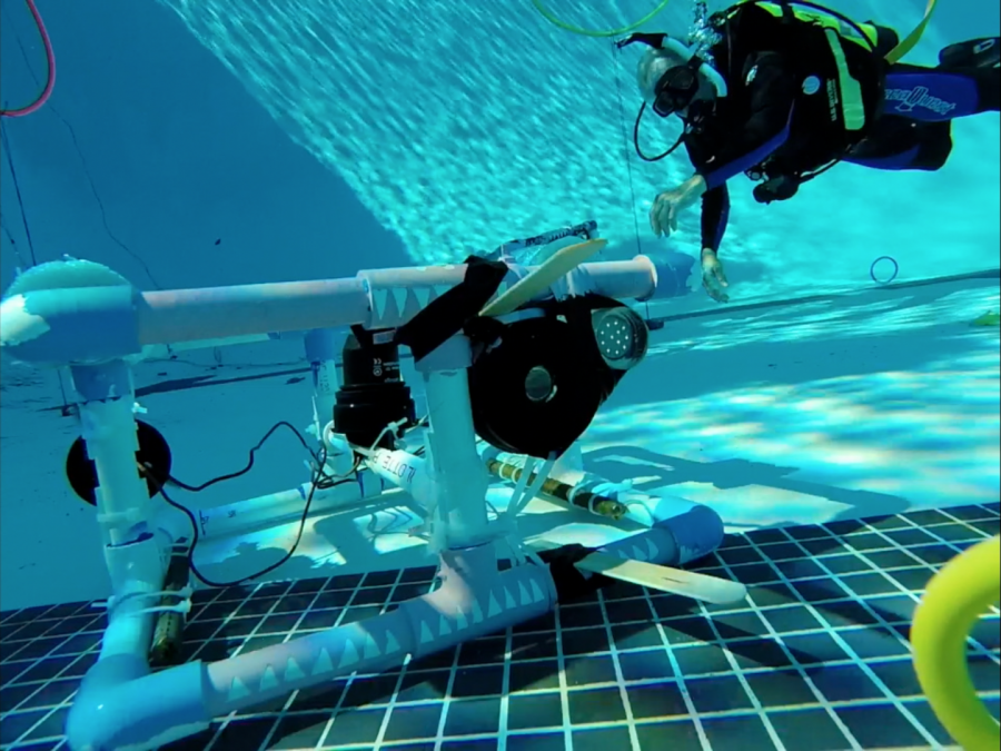 Video: Marine Science ROV Launch Day