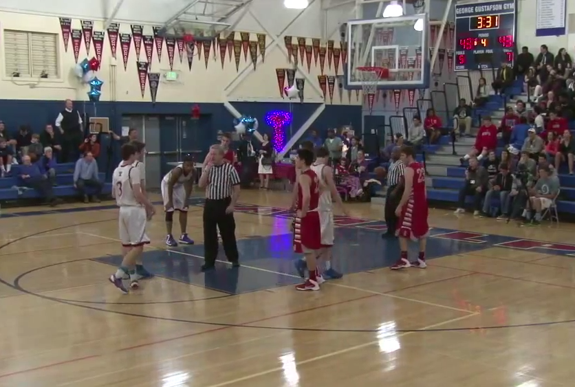 Tam vs Redwood Overtime Thriller - Boys' Varsity Basketball