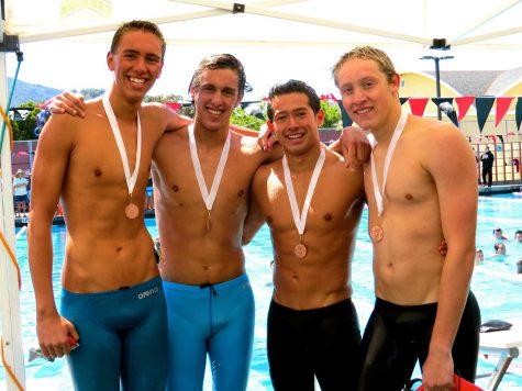 Swimmers Finish MCAL Season