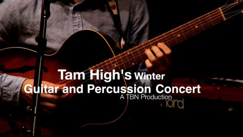Tam Holds Winter Guitar and Percussion Concert
