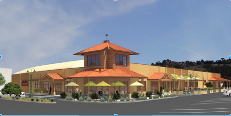 A CGI image of the Good Earth store that will occupy the former Delano's IGA location in Tam Valley.