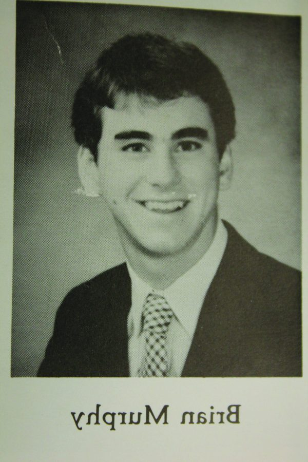 HAWK FOR LIFE: Brian Murphy graduated in 1985 and was a news reporter for The Tam News. After graduating he went onto UCLA and eventually became the co-host for the Murph and Mac show on KNBR.                                                     photo courtesy of: Tamalpais High Scool Yearbook