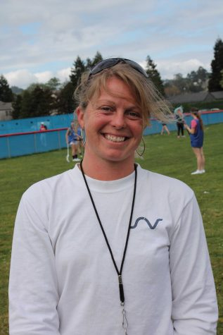 TAM GRAD: Natalie Butler is the returning girls' lacrosse coach. She was among the first to play lacrosse at Tam.           Photo by: Kerry Taylor