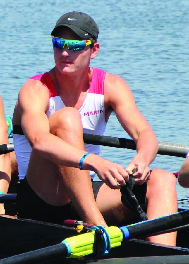 Senior Brennan Wertz Pursues Rowing