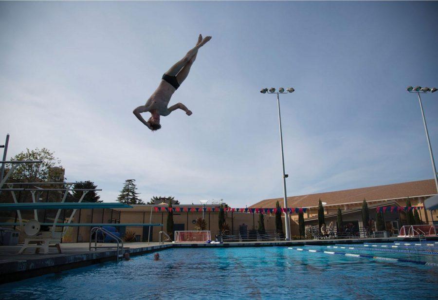 Swan Dive: Diving Captain Ethan Daniel - The Tam News