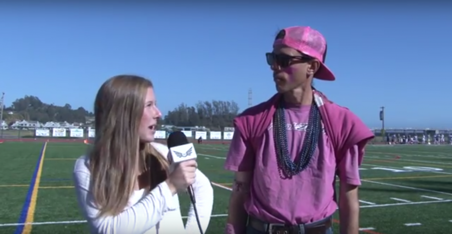 Interview with Deion at Homecoming Game - 2015