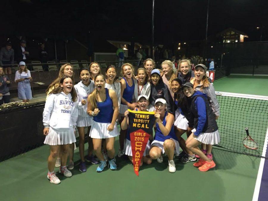 Varsity Girls Tennis Wins MCAL