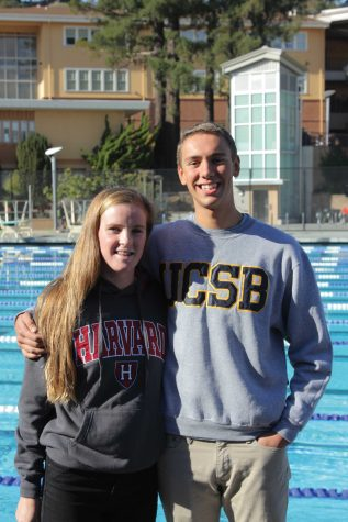 Tam Swimmers Commit to College
