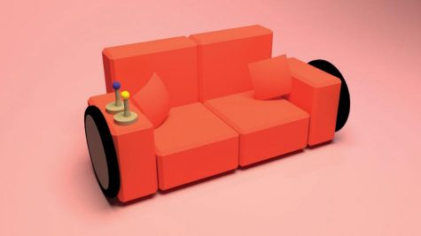 Engineering Club Creates Motorized Couch