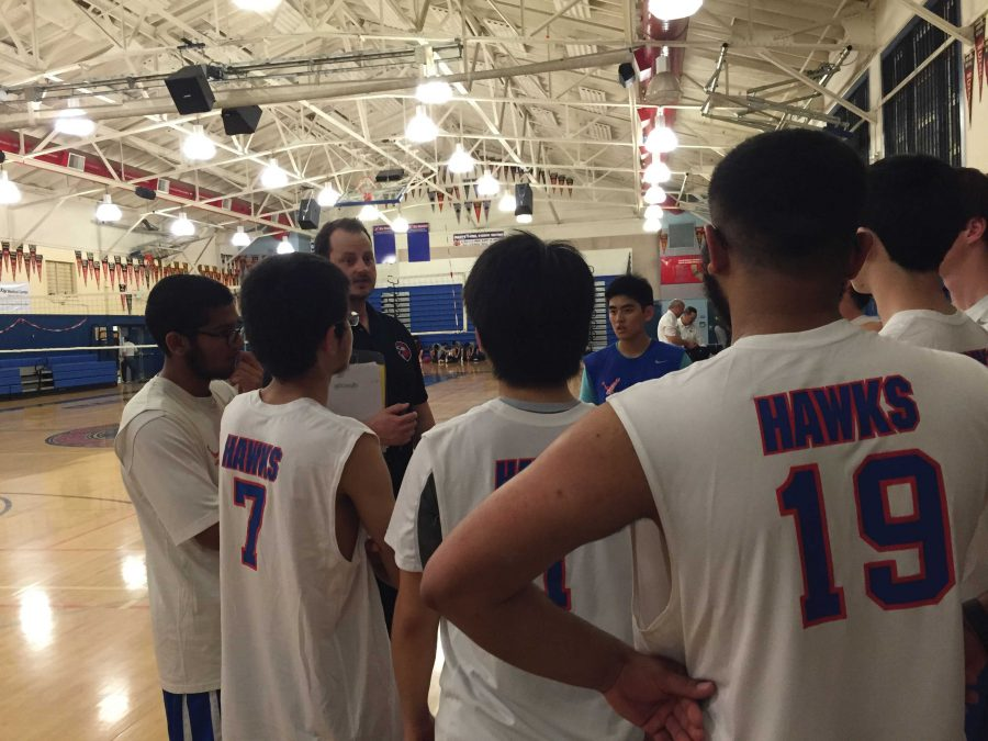 Varsity Boys' Volleyball Loses to Drake