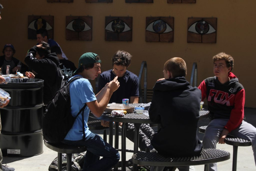 table during break generic
